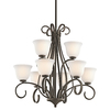 Portfolio 9-Light Aztec Olde Bronze Chandelier