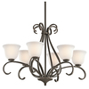 Portfolio 6-Light Aztec Olde Bronze Chandelier