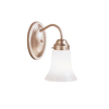Portfolio Aztec Brushed Nickel Bathroom Vanity Light