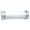 Portfolio 2-Light Aztec White Bathroom Vanity Light
