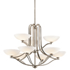 Portfolio 9-Light Chatham Antique Pewter Chandelier