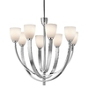 Portfolio 9-Light Laval Chrome Chandelier
