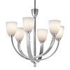 Portfolio 6-Light Laval Chrome Chandelier