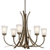 Portfolio 6-Light Coburn Olde Iron Chandelier