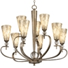 Portfolio 9-Light Roma Notte Sunrise Mist Chandelier
