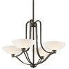 Portfolio 4-Light Chatham Olde Bronze Chandelier
