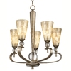 Portfolio 5-Light Roma Notte Sunrise Mist Chandelier