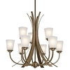 Portfolio 9-Light Coburn Olde Iron Chandelier