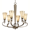 Portfolio 6-Light Roma Notte Sunrise Mist Chandelier
