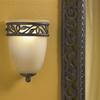 Portfolio 5.87-in W 1-Light Tannery Bronze Pocket Hardwired Wall Sconce