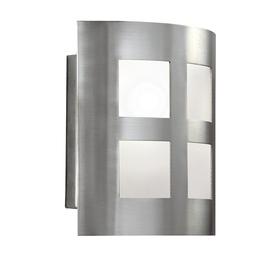 Portfolio 6.5-in W 1-Light Satin Nickel Pocket Hardwired Wall Sconce