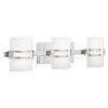 Kichler Lighting 3-Light Deauville Chrome LED Bathroom Vanity Light
