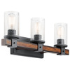 Kichler Lighting 3-Light Barrington Bathroom Vanity Light