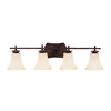Portfolio 4-Light Canyon Slate Bronze Bathroom Vanity Light