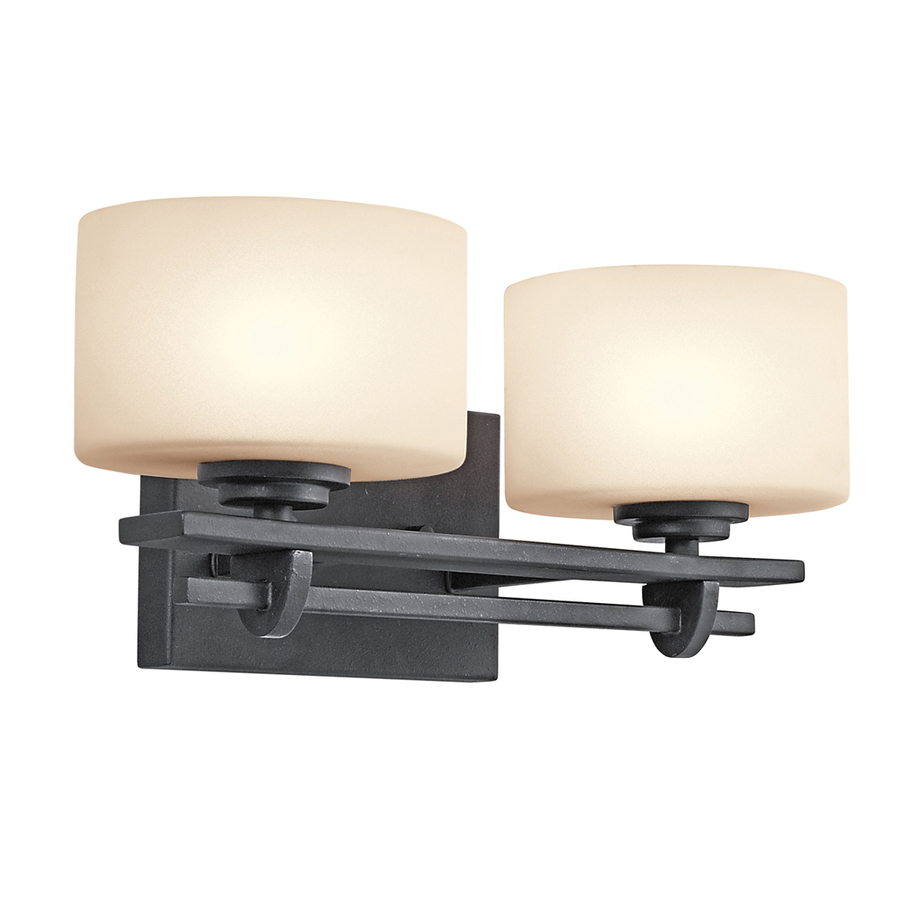 light natalia distressed black bathroom vanity light at