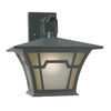 Portfolio Aztec 12-7/8 -in Saddle Bronze Outdoor Wall Light