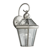 Portfolio Capretti 1-Pack 15.25 Inches-In Antique Pewter Outdoor Wall Light