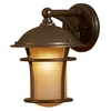 allen + roth Aztec 1-Pack 11 Inches-In Antique Bronze Portfolio Outdoor Wall Light