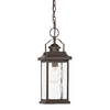 Kichler Lighting Linford 16.77-in Olde Bronze Outdoor Pendant Light