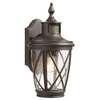 allen + roth allen + roth Castine Rubbed Bronze Outdoor Wall Light