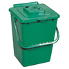 Exaco 0.26 cu ft Plastic Stationary Bin Composter