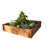 Frame It All 48-in L x 48-in W x 12-in H Plastic Raised Garden Bed