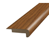 SimpleSolutions 2-3/8-in x 6-ft 6-11/16-in Hickory Stair Nose Moulding