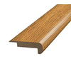 SimpleSolutions 2-3/8-in x 6-ft 6-11/16-in Oak Stair Nose Moulding