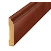 SimpleSolutions 3-5/16-in x 7-ft 10-1/2-in Rosewood Base Moulding