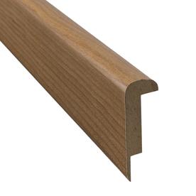 Pergo 2.37-in x 78.74-in Cherry Stair Nose Floor Moulding