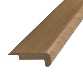Shop pergo x beech stair nose floor for Pergo flooring trim