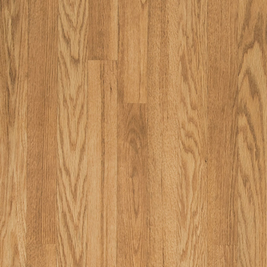 Shop pergo max w x l natural oak embossed for Oak wood flooring