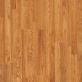 Pergo MAX 7.61-in W x 3.96-ft L Butterscotch Oak Embossed Laminate Floor Wood Planks