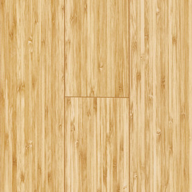 Pergo MAX 4.92-in W x 3.99-ft L Golden Bamboo Smooth Laminate Floor Wood Planks