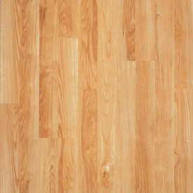 Pergo Max 7.61-in W x 3.96-ft L American Beech Wood Plank Laminate Flooring