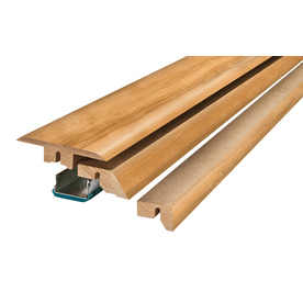 SimpleSolutions 2.37-in x 78.74-in American Beech 4-N-1 Floor Moulding