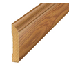 SimpleSolutions 3.3-in x 94.48-in Cherry Base Floor Moulding