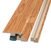 SimpleSolutions 2.37-in x 78.74-in Cherry 4-n-1 Floor Moulding