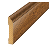 SimpleSolutions 3.3-in x 94.48-in Hickory Base Floor Moulding