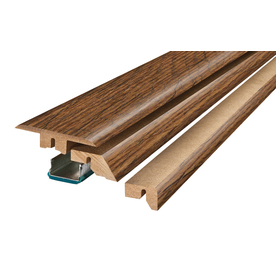 SimpleSolutions 2.37-in x 78.74-in White Oak 4-n-1 Floor Moulding
