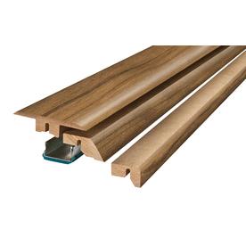 SimpleSolutions 2.37-in x 78.74-in Montgomery Apple 4-N-1 Floor Moulding