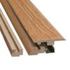 Pergo 2-3/8-in x 78-3/4-in Oak 4-N-1 Moulding
