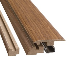 SimpleSolutions 2-3/8-in x 78-3/4-in Madison Hickory 4-N-1 Moulding