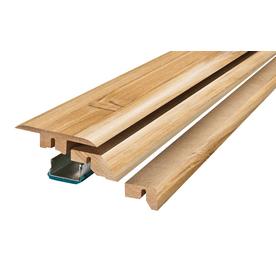 SimpleSolutions 2.37-in x 78.74-in Bamboo 4-n-1 Floor Moulding