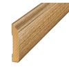 SimpleSolutions 3-5/16-in x 7-ft 10-1/2-in Tigerwood Base Moulding