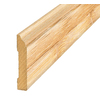 SimpleSolutions 3-5/16-in x 7-ft 10-1/2-in Bamboo Base Moulding