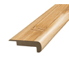 SimpleSolutions 2-3/8-in x 6-ft 6-11/16-in Bamboo Stair Nose Moulding