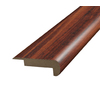 SimpleSolutions 2-3/8-in x 6-ft 6-11/16-in Rosewood Stair Nose Moulding