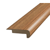 SimpleSolutions 2-3/8-in x 6-ft 6-11/16-in Tigerwood Stair Nose Moulding