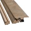 Pergo 2.37-in x 78.74-in Sierra Slate 4-N-1 Floor Moulding